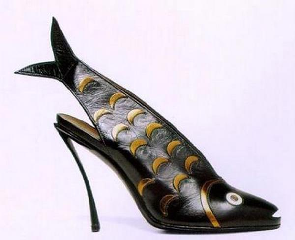 10 Most Artistically Weird Shoes Ever Made