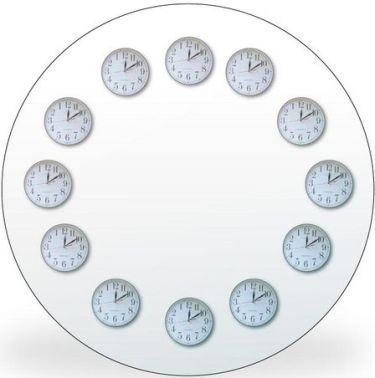 12x12 clock