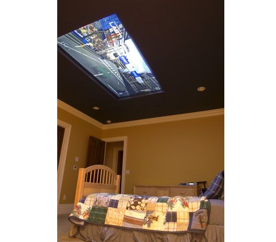 98 inch ceiling screen