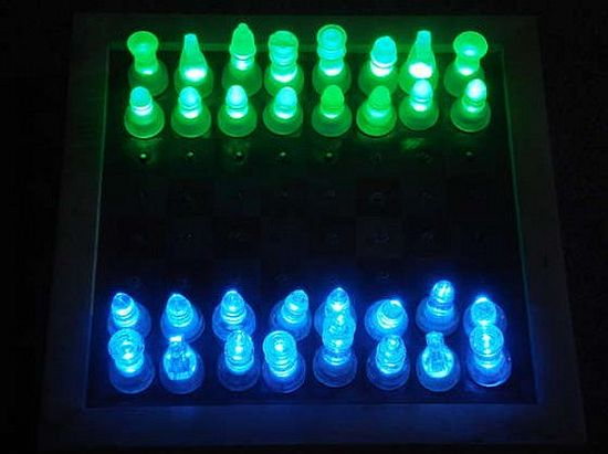 diy led chess set 1 Et2Wy 1333