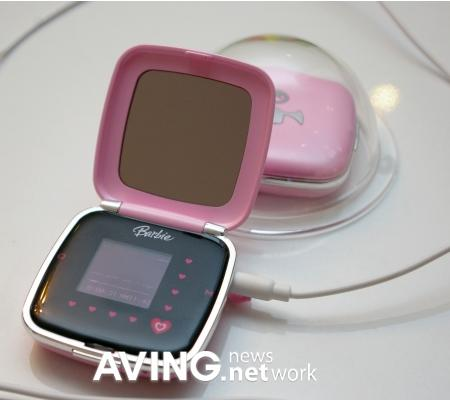 baby pink barbie mp3 player 1