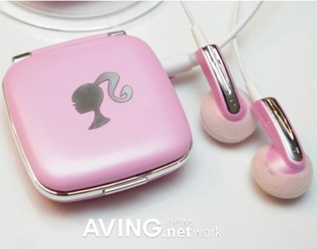 baby pink barbie mp3 player 6