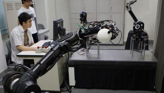 baseball playing robots