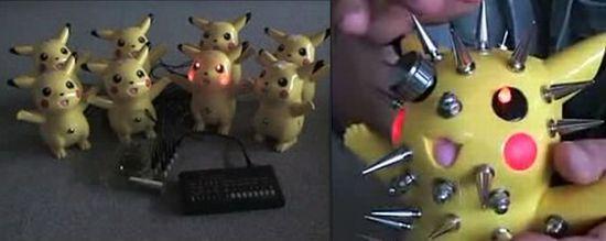 bent pikachu nABgt 1333