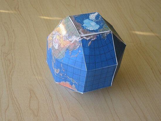 cardboard globe MABTu 59