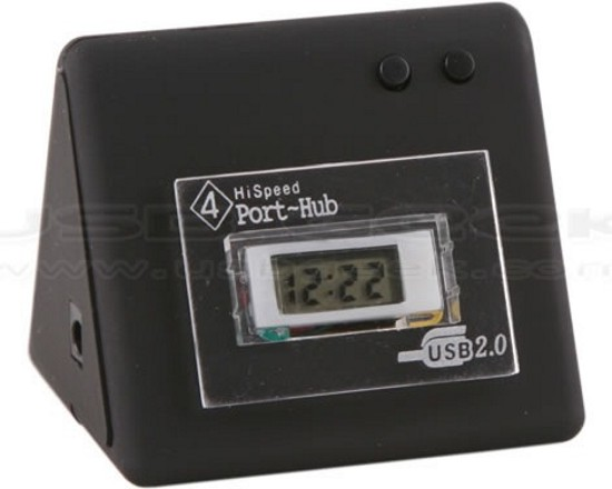 clock with 4 usb ports jlH8j 2263
