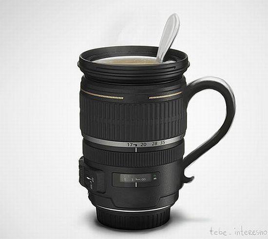 coffee mug cum lens dupnb 59 QEP47 1333