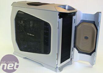 cooler master aluminium pc case