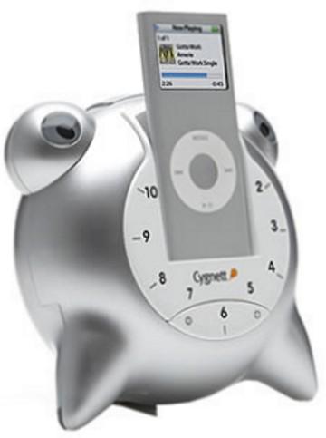 cygnett groovetoons speaker and alarm clock system