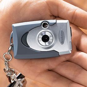 digital camera keychain