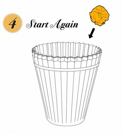 disposable waste paper basket 4