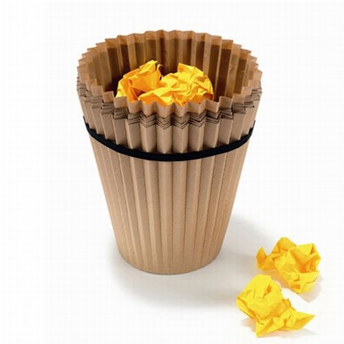 disposable waste paper basket