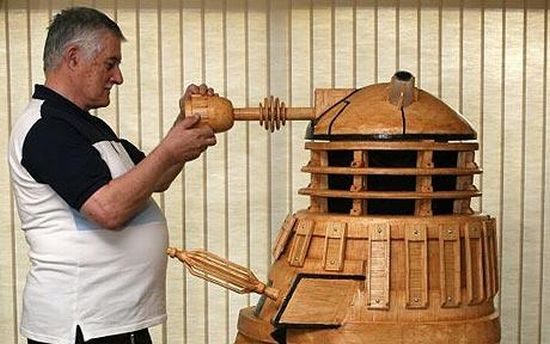 doctor who dalek model
