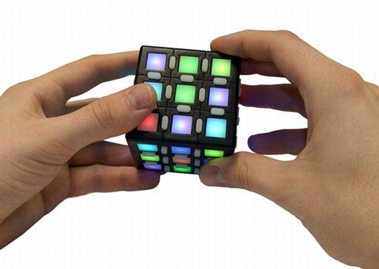 electronic rubiks cube 1