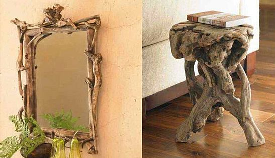 entwined root furniture