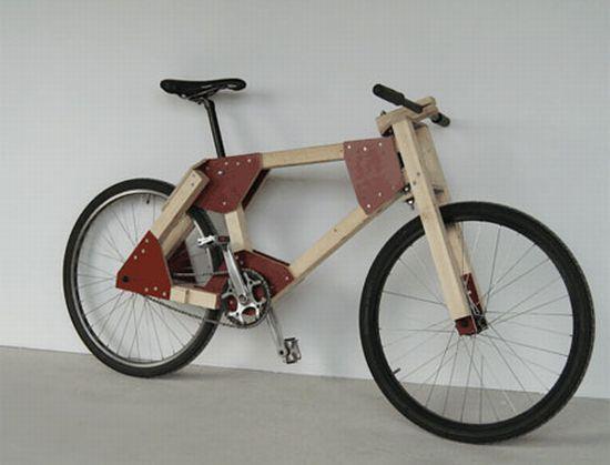 erics wooden bike
