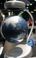 floating ideas levitating globe1