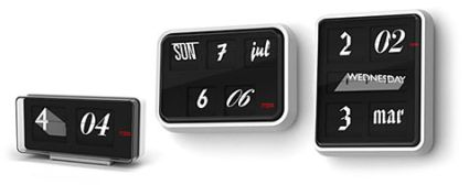 font clocks