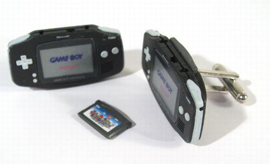game boy advance cufflinks RdNXk 6648