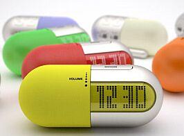 gellule encapsulated clock radio