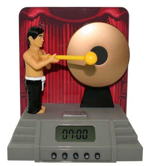 gong alarm clock