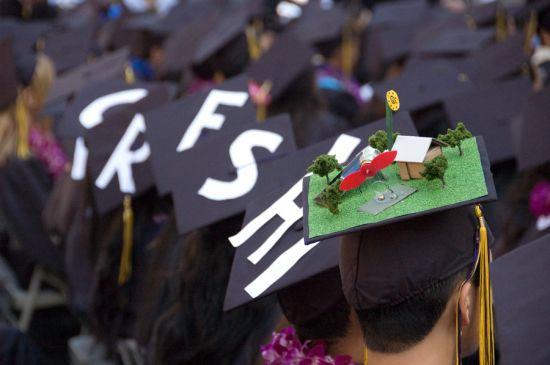 green graduation cap 1