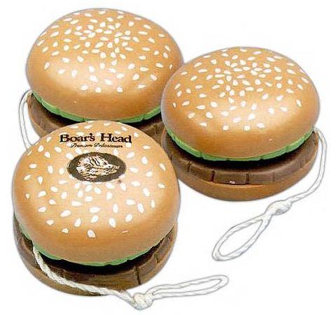hamburger yo yo