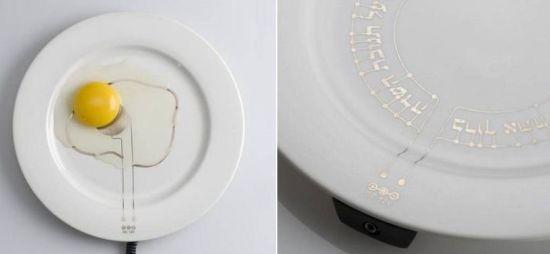 heating plate keeps your food warm