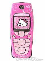 hello kitty nokia 6010 phone