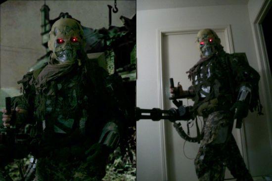 homemade terminator costume