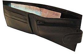 illuminating wallet