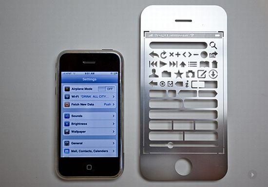 iphone stencil kit 5