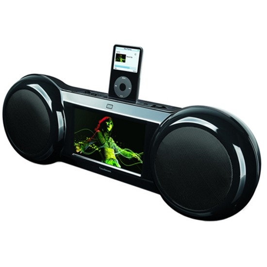 ipod dock with video 2263