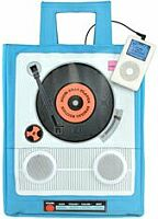ipod tote with speakers