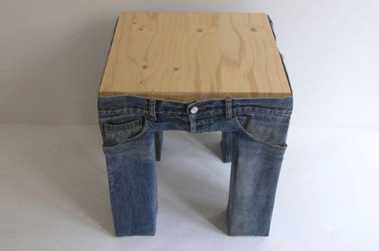 jeans stool 1