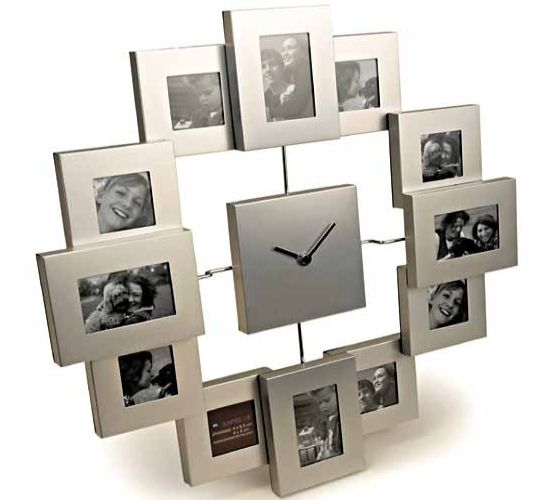karlsson 39 s designer wall clock cum photo frame incredible diary by