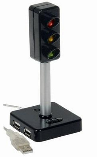 led traffic light usb 20 hub