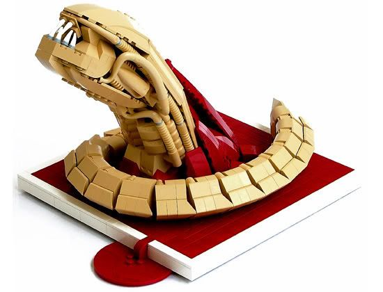 lego alien chestbuster