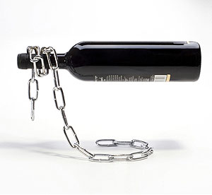 lg chain wine bottle holder ZBUmx 1333
