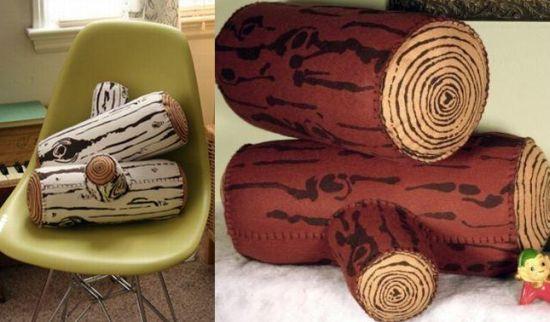 log pillow 2