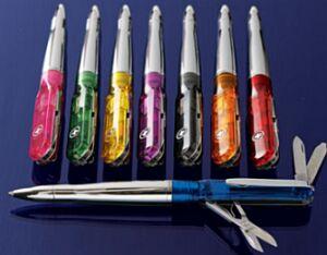 multi use ballpoint pens