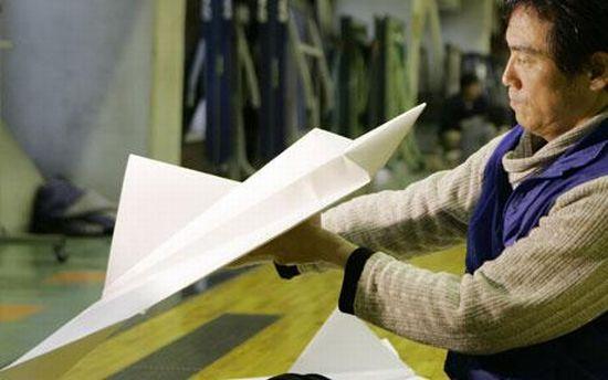 paper plane world record