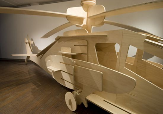 plywood helicopter 1