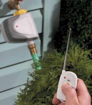 remote control lawn watering