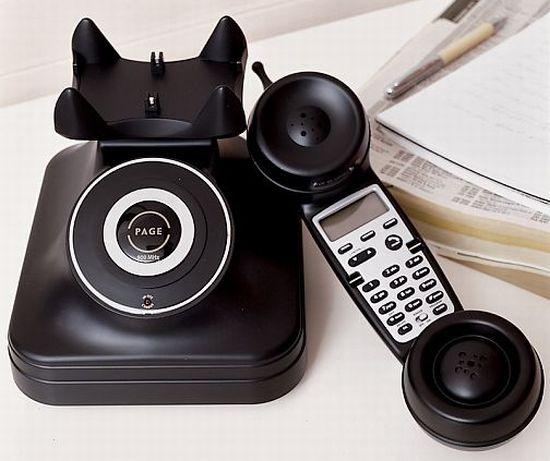 retro cordless phone