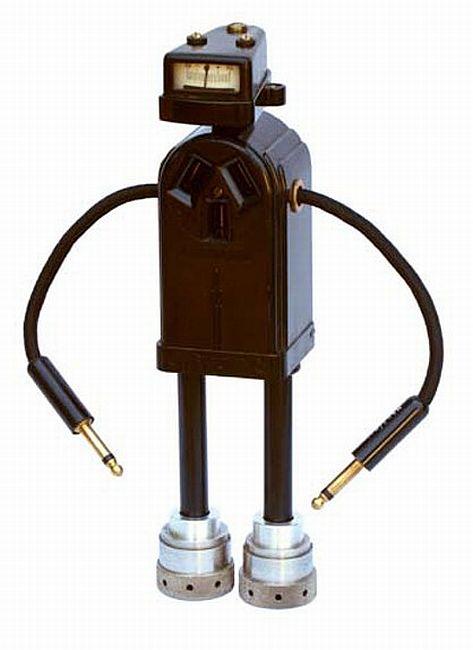 retro futuristic levit robot