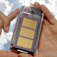 solar powered mobile phone concept