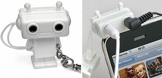 splitterbot headphone sharing robot
