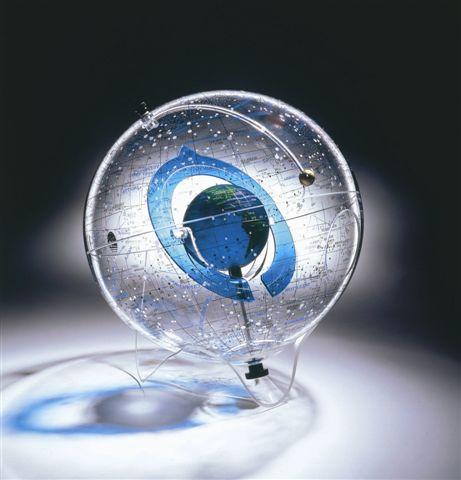 starship earth ii globe