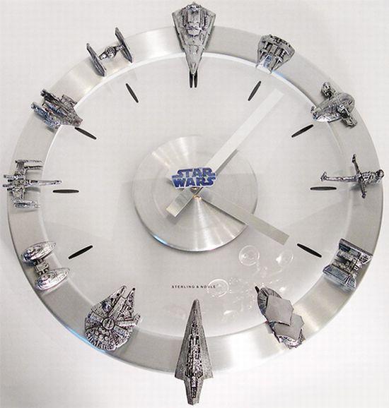 starwars clock 67XMt 6648